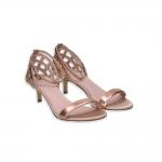 Basket Rosegold Sandal heel 50