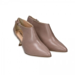 Hazel nappa ankle boot with opening side heel 50